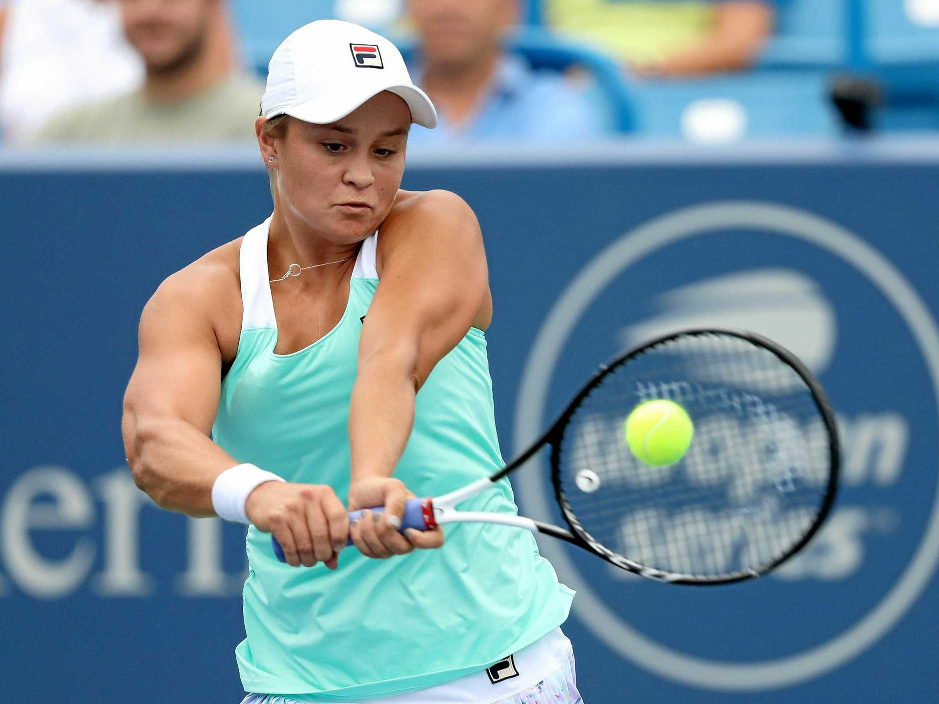 Australia's Ashleigh Barty, seeded 18th for the US Open, has lost only twice since Wimbledon. Picture: Matthew Stockman/Getty Images
