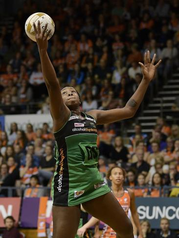 West Coast Fever's Jhaniele Fowler will be a handful. Picture: Getty