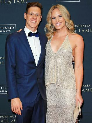 Together at the Sport Australia Hall of Fame. Picture: Mark Stewart