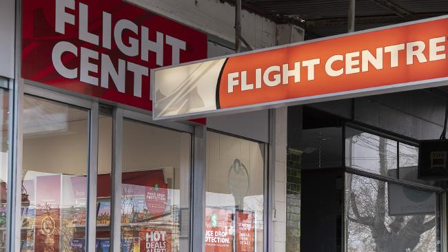 Flight Centre has come under fire for its business practices. Picture: Ellen Smith