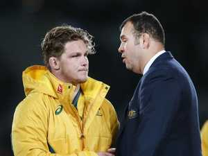 Angry Cheika fires up over questions about future