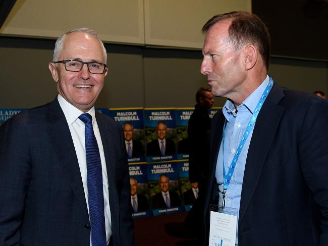 Tony Abbott has been a destabilising force in the government since Malcolm Turnbull rolled him for the top job three years ago. Picture: AAP