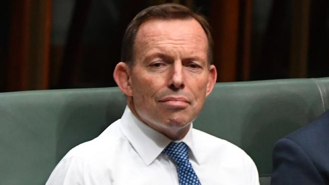 Tony Abbott is being urged to quit politics. Picture: AAP
