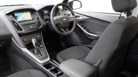 Titanium cockpit: Leather trim, auto only plus alerts and driver assist