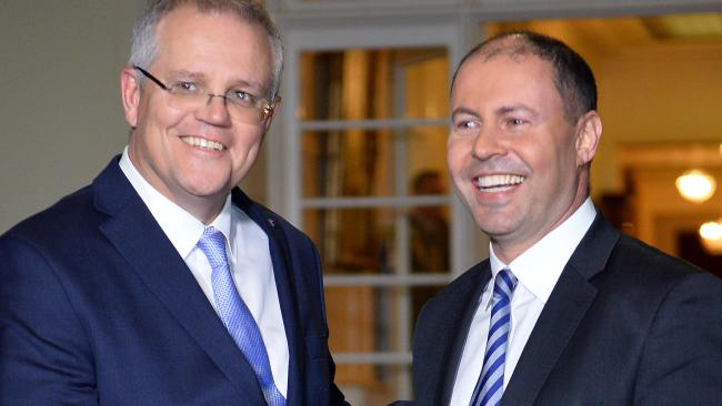 Prime Minister Scott Morrison and deputy Liberal leader Josh Frydenberg are the latest victors in Australia's messy and chaotic changes at the highest levels of government.