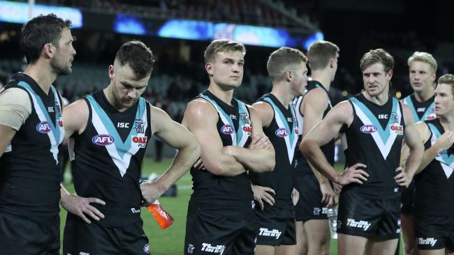 Port Adelaide's off season started early.