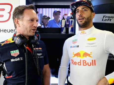 Horner was shocked by Ricciardo's switch.