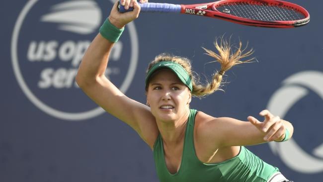 Canadian Eugenie Bouchard pulls in big crowds on and off the court.
