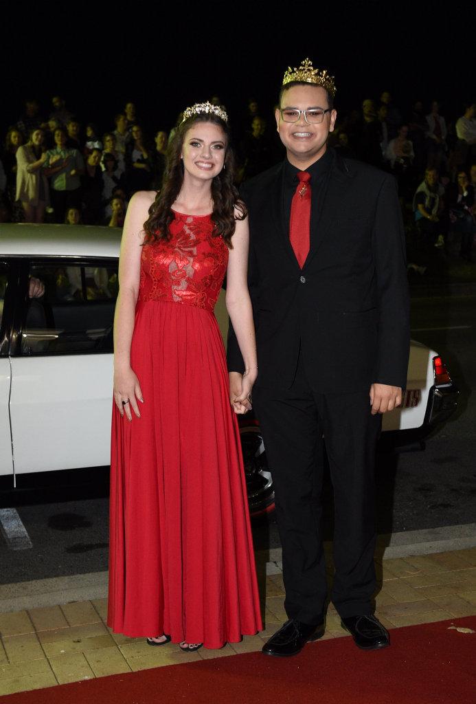 Xavier Catholic College formal - Rameh Krause and Hayden Kubler.