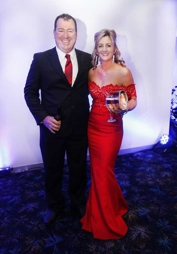 Image for sale: 2018 Combined NSW, QLD, AFP Police Charity Ball held at Tweed Seagulls CLub - Peter and Natalie Lever