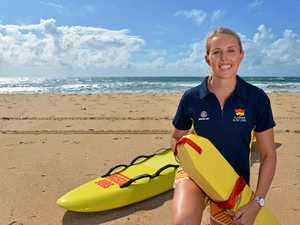 Dicky Beach captain named young lifesaver of the year