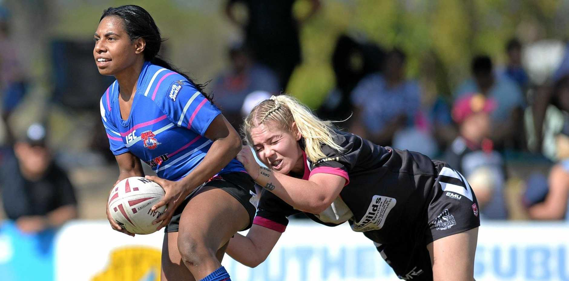 The Magpies couldn't hold on as the Moranbah Miners advanced to the MDRL Women's grand final.