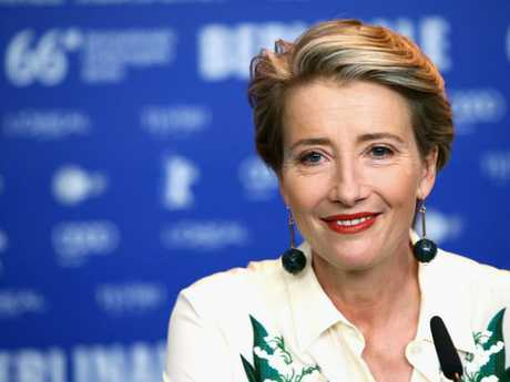 Emma Thompson is a vocal supporter of the #MeToo movement.  Picture:  Supplied