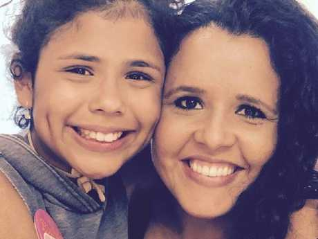 Aileen Pizarro and her 12-year-old daughter were killed in the crash. Picture: GoFundMe