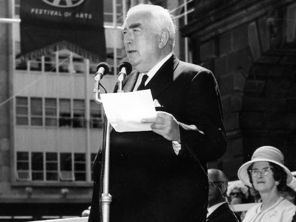 Former prime minister Sir Robert Menzies in 1964.