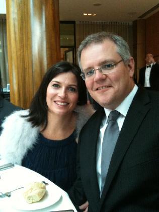 Jenny and Scott Morrison in 2013.