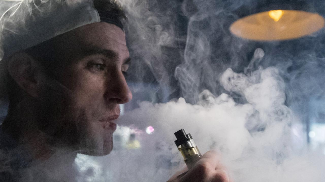 A new study presents a strong case against e-cigarettes. Photo by Matt Cardy/Getty Images)