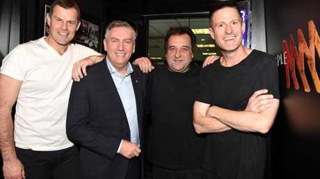 Wil Anderson replaced Mick Molloy on the Triple M breakfast show.