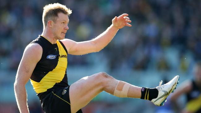 Jack Riewoldt is favourite to win his third Coleman Medal. Picture: Michael Klein
