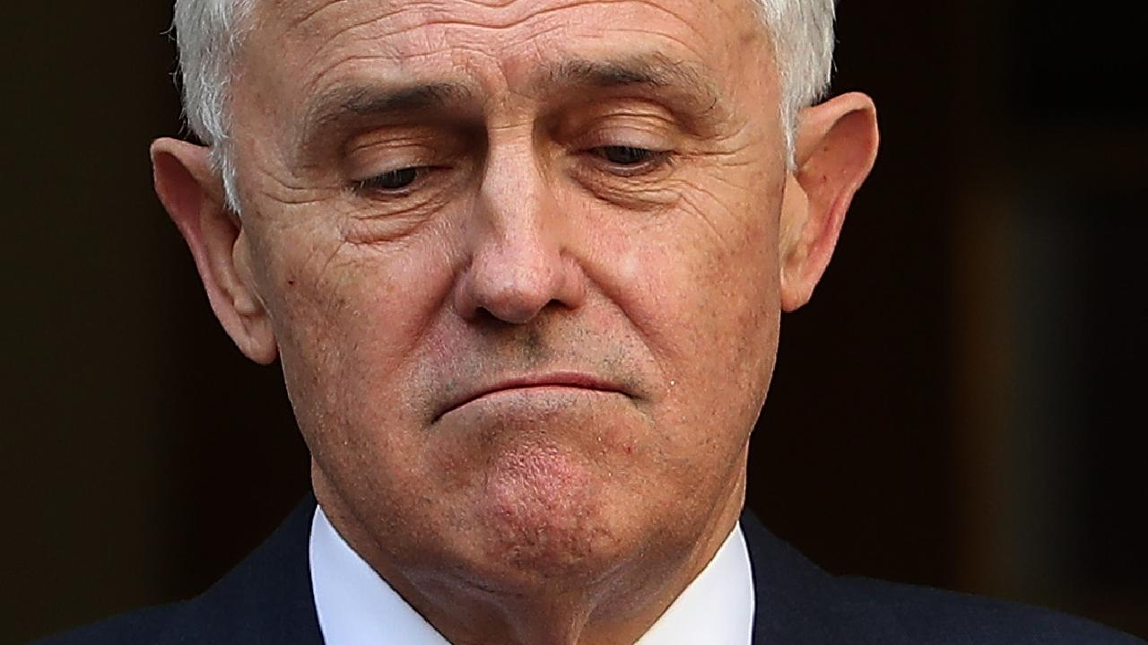 Malcolm Turnbull doesn't deserve your sympathy. Pic: Kym Smith