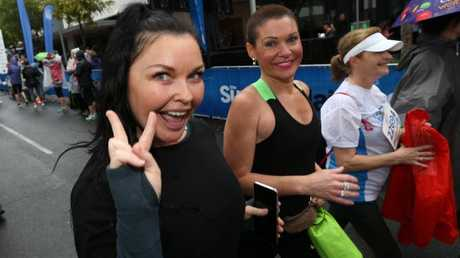 Schapelle Corby competed in the Bridge to Brisbane to raise funds for suicide prevention. Picture: AAP Image/Richard Waugh