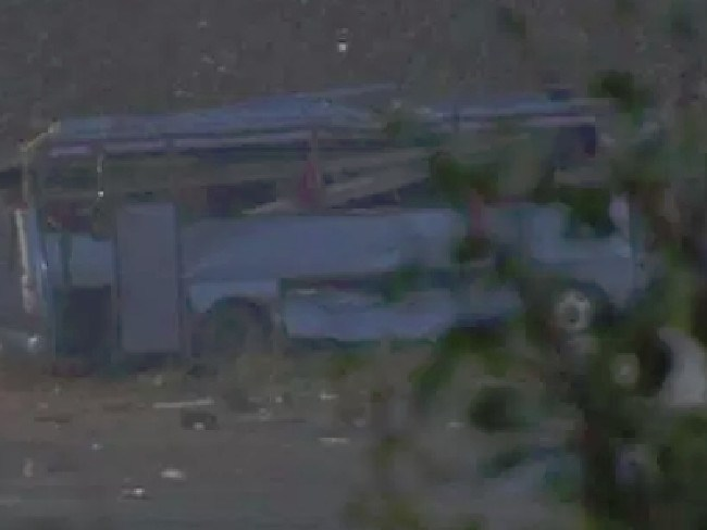 15 people have been killed in a bus crash in Bulgaria.  Picture:  Supplied