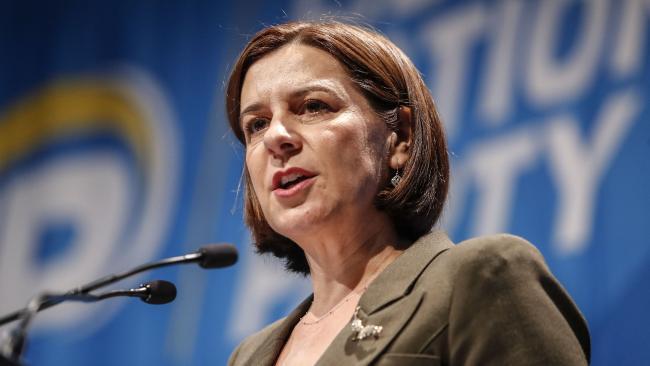 Queensland LNP Leader Deb Frecklington. Picture: AAP Image/Glenn Hunt