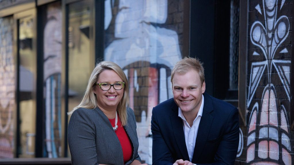 Focus HR owners Naomi Wilson and Alistair Green.