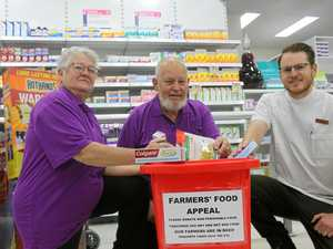 Food drive for farmers and animals in drought