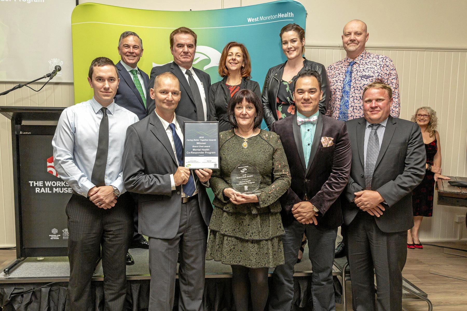 Mental health team work earns top gong at awards