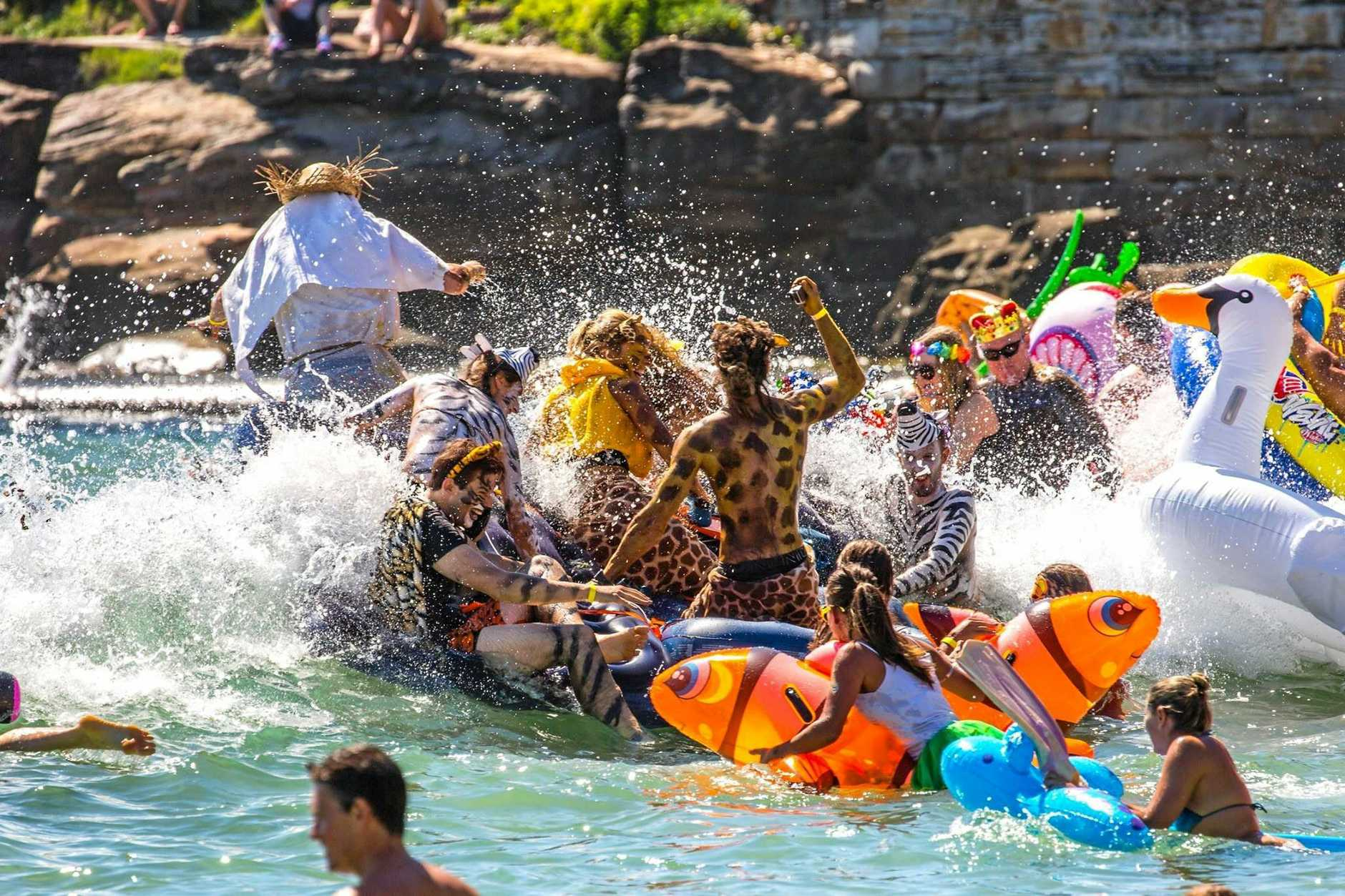 The popular Manly Inflatable Boat Race, in support of Tour de Cure, has reached its 14th year. It served as inspiration for the new Mackay Inflatable Boat Race.
