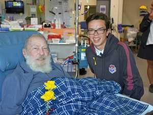 Students' hospital visit brings some sunshine