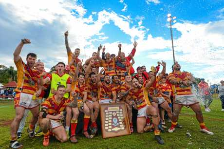 Coffs Comets defeat Macksville 30- 14 in Group 2 rugby league Grand Final. 26 AUG 2018