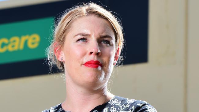 Community and Public Sector Union Queensland associate secretary Amy Smith. Picture: Zak Simmonds