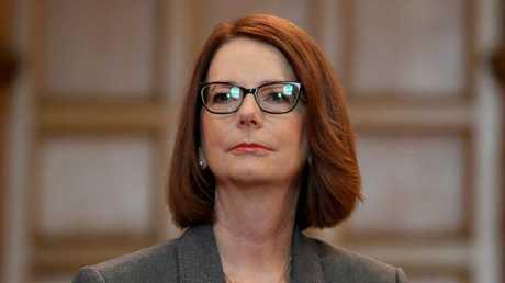 Julia Gillard deposed Kevin Rudd, only to be deposed by him in return. (Pic: Kelly Barnes/The Australian)