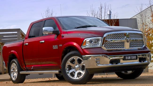 The Ram 1500 will compete with high-end Toyota HiLuxes and Ford Rangers. Picture: Supplied.
