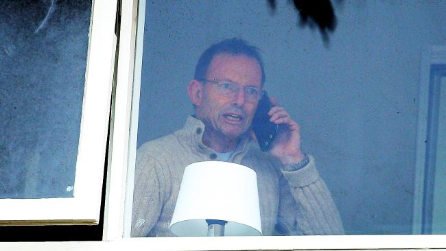 Tony Abbott pictured in Sydney at the weekend. Picture: Sam Ruttyn