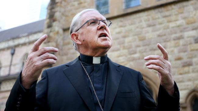 Archbishop Mark Coleridge has defended the email he sent on the Queensland abortion Bill.