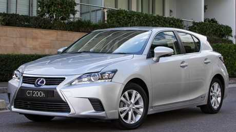 Slow seller: Lexus has been struggling to move its CT200h.