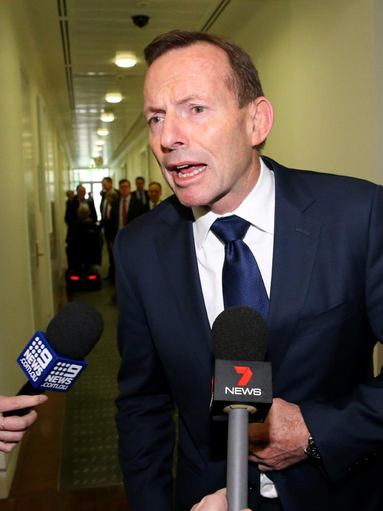 Mr Abbott is worried about being given a position that is little more than a title without a role. Picture: Ray Strange