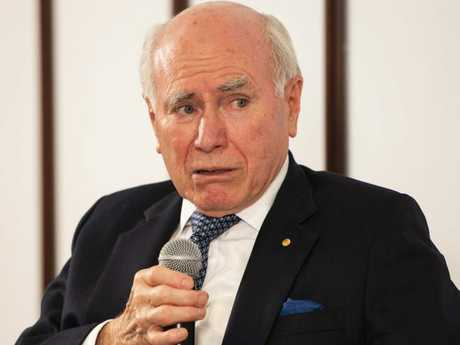 Former Prime Minister John Howard speaks at the Canberra Writers Festival. Picture: Rohan Thomson