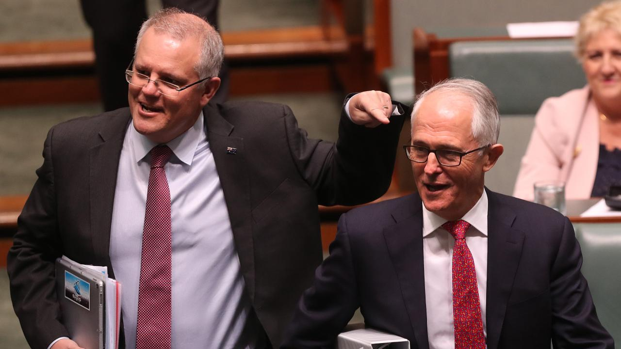 The Liberal Party has taken a massive tumble in the polls after a tumultuous leadership spill.