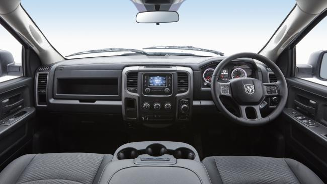 The Ram's interior is cavernous. Picture: Supplied.