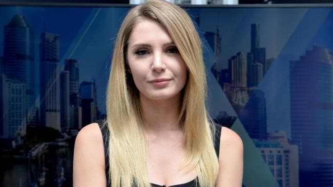 Right-wing Canadian activist Lauren Southern. Picture: Bradley Kanaris/AAP
