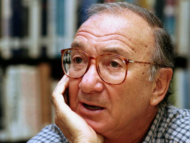 American playwright Neil Simon has passed away at age 91. Picture: Supplied
