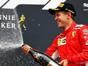 Vettel trims rival Hamilton's F1 lead