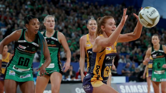 Steph Wood hopes the majority of the Lightning team returns for another shot at the title next season. Picture: AAP