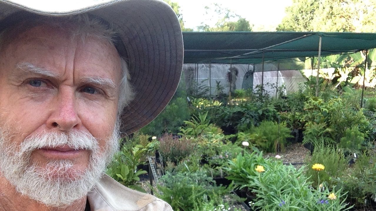 PASSIONATE HORTICULTURALIST: Colin Broadfoot