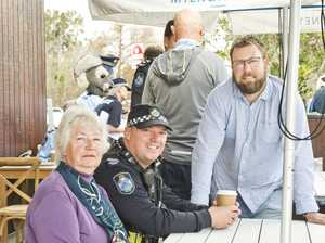 Coffee With a Cop a hit with Toowoomba community