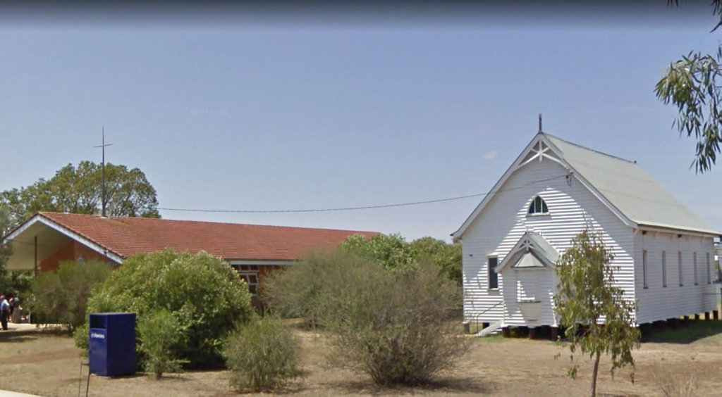 POSSIBLE REMOVAL: The Sacred Heart Catholic Parish at Cambooya will apply to the council to have its old church building on Eton St removed so it can be restored by a new buyer.